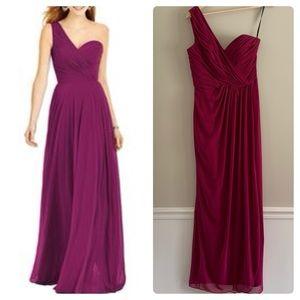 Dessy one shoulder bridesmaid dress style 2905